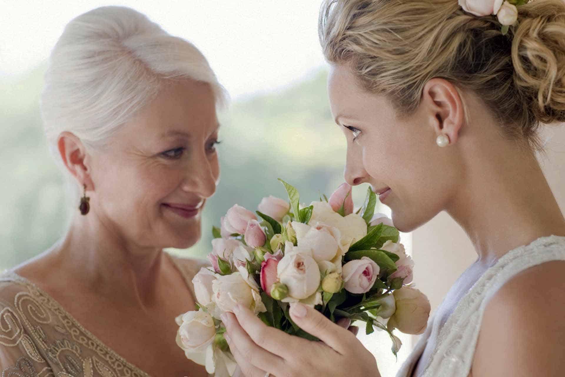 Поздравление дочки на свадьбе мамой