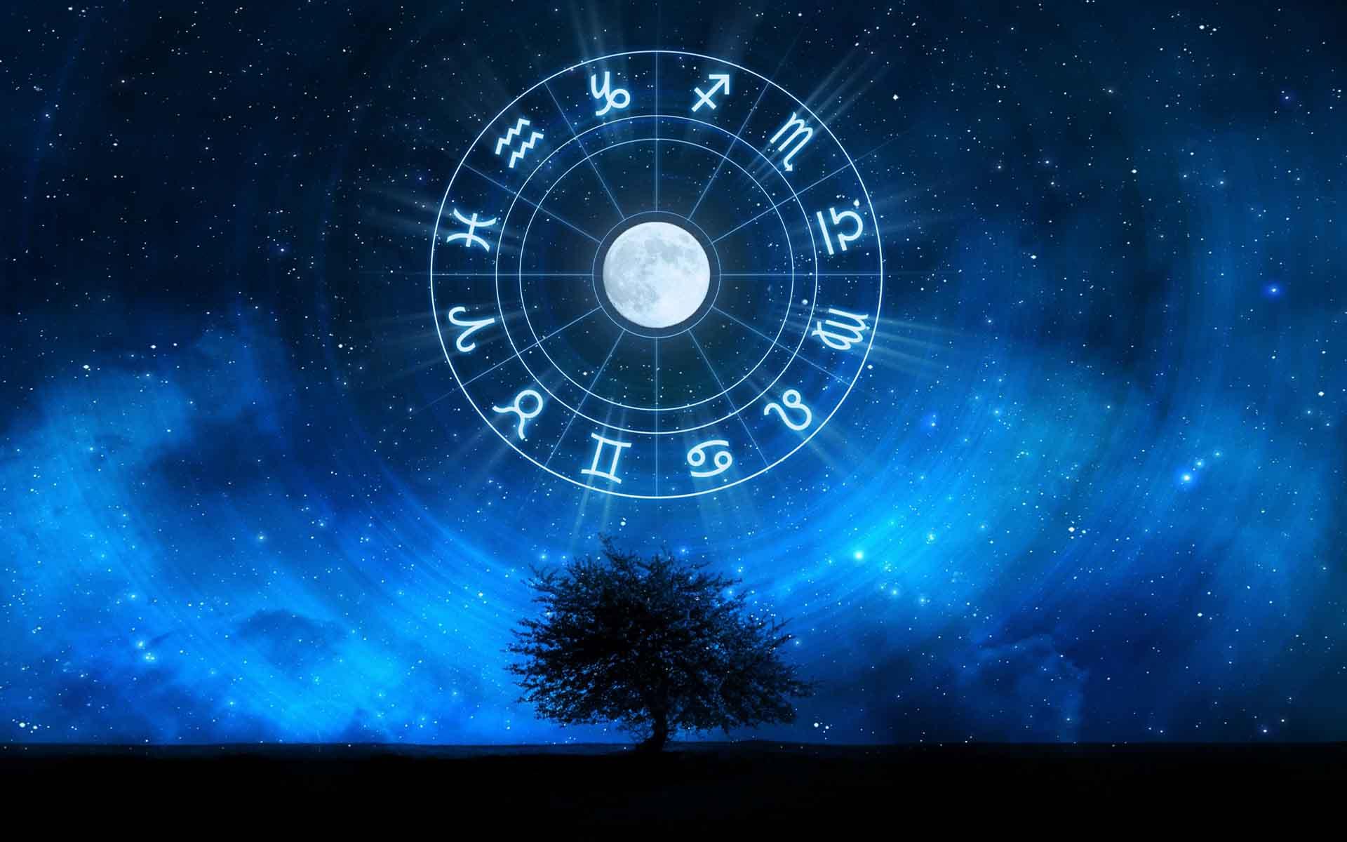 Астрологическая карта на дату рождения человека