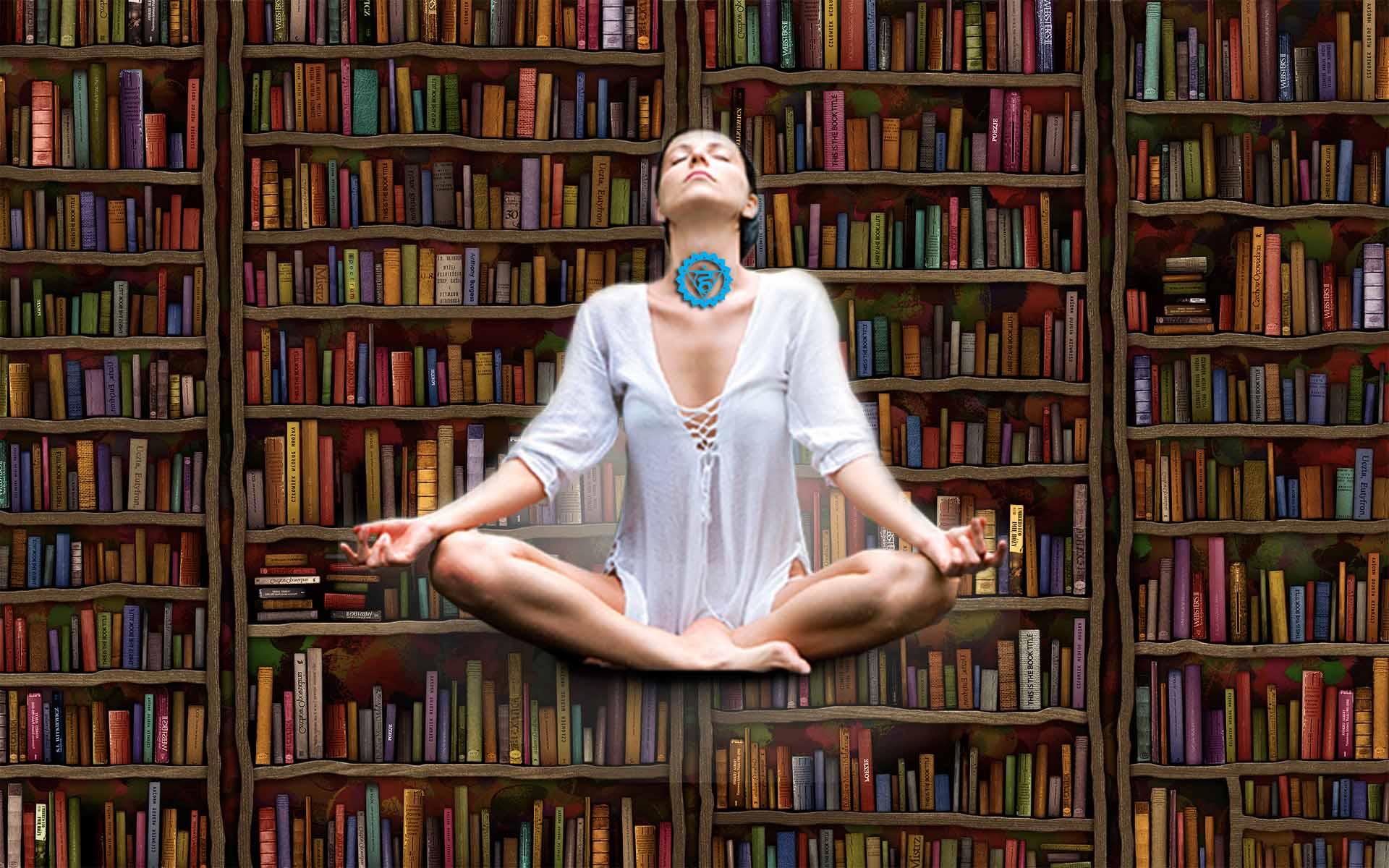 Практика открытия пятой чакры: «Библиотека»