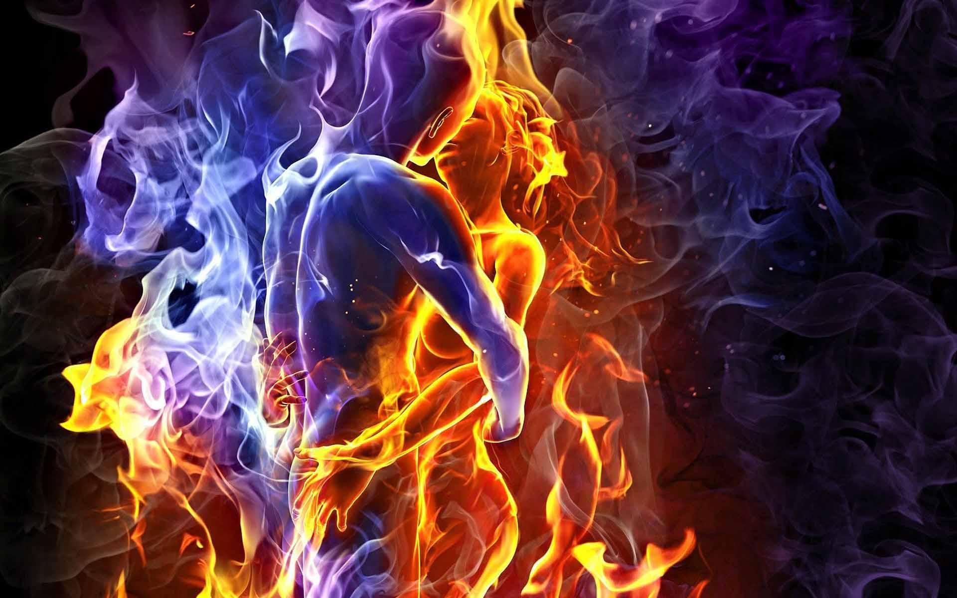 Дух, душа и тело в любви