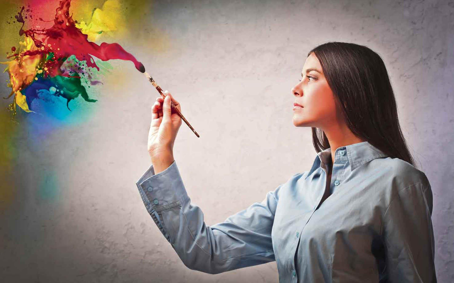 Как стать творческим
