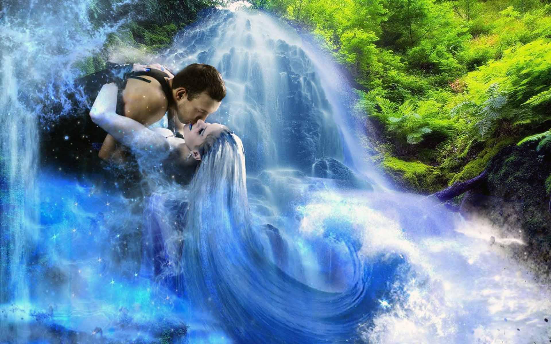 Медитация: «Водопад любви»