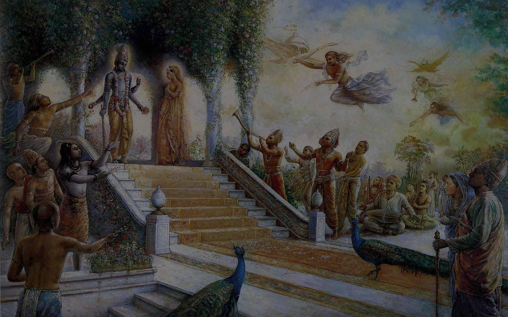Привязки к земному. Пробуждение Буддхи.