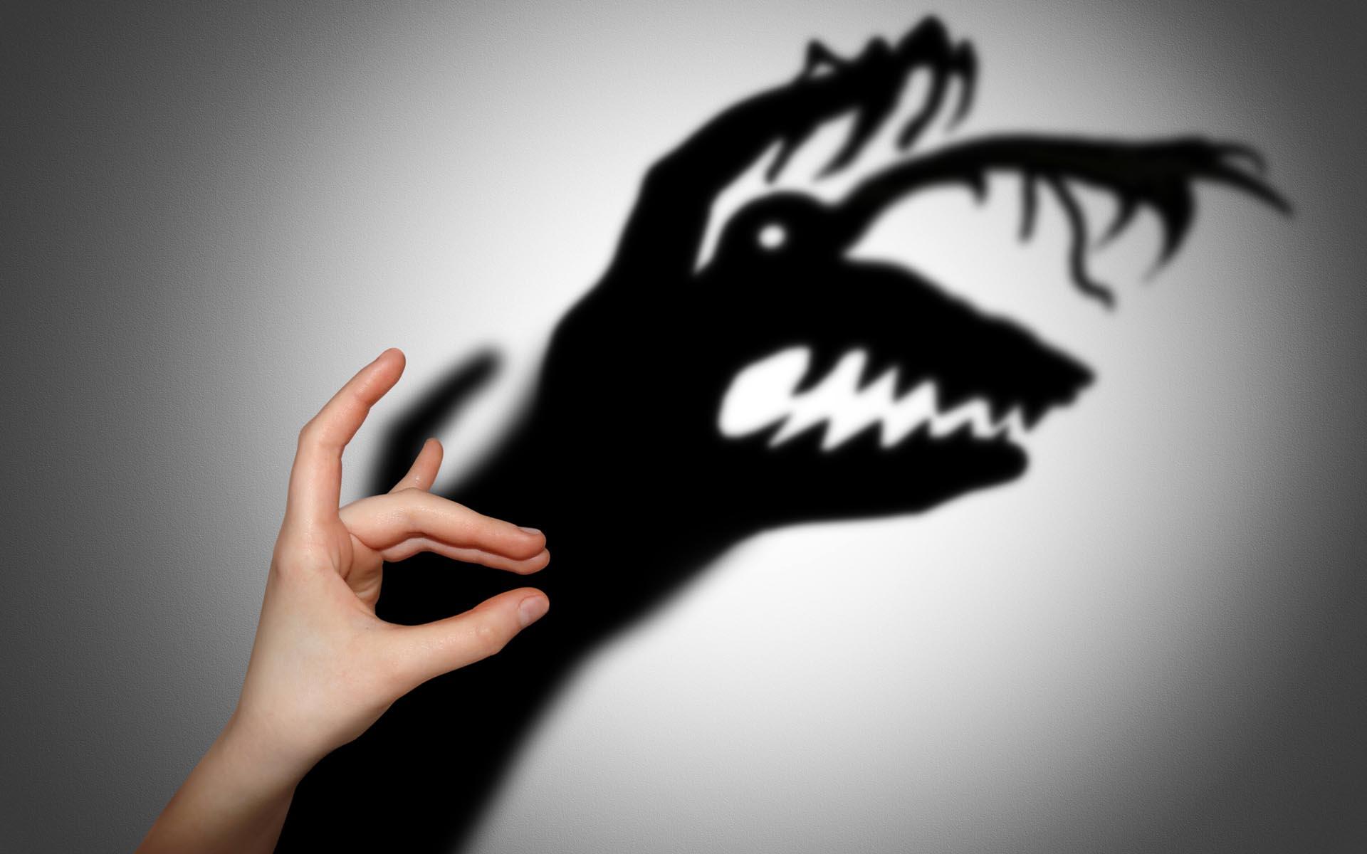 Когда я в страхах – я кормлю ад!