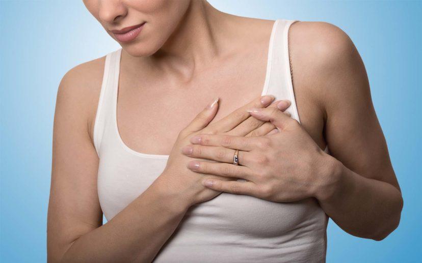 Диагноз — онкология. Опухоль левой груди.