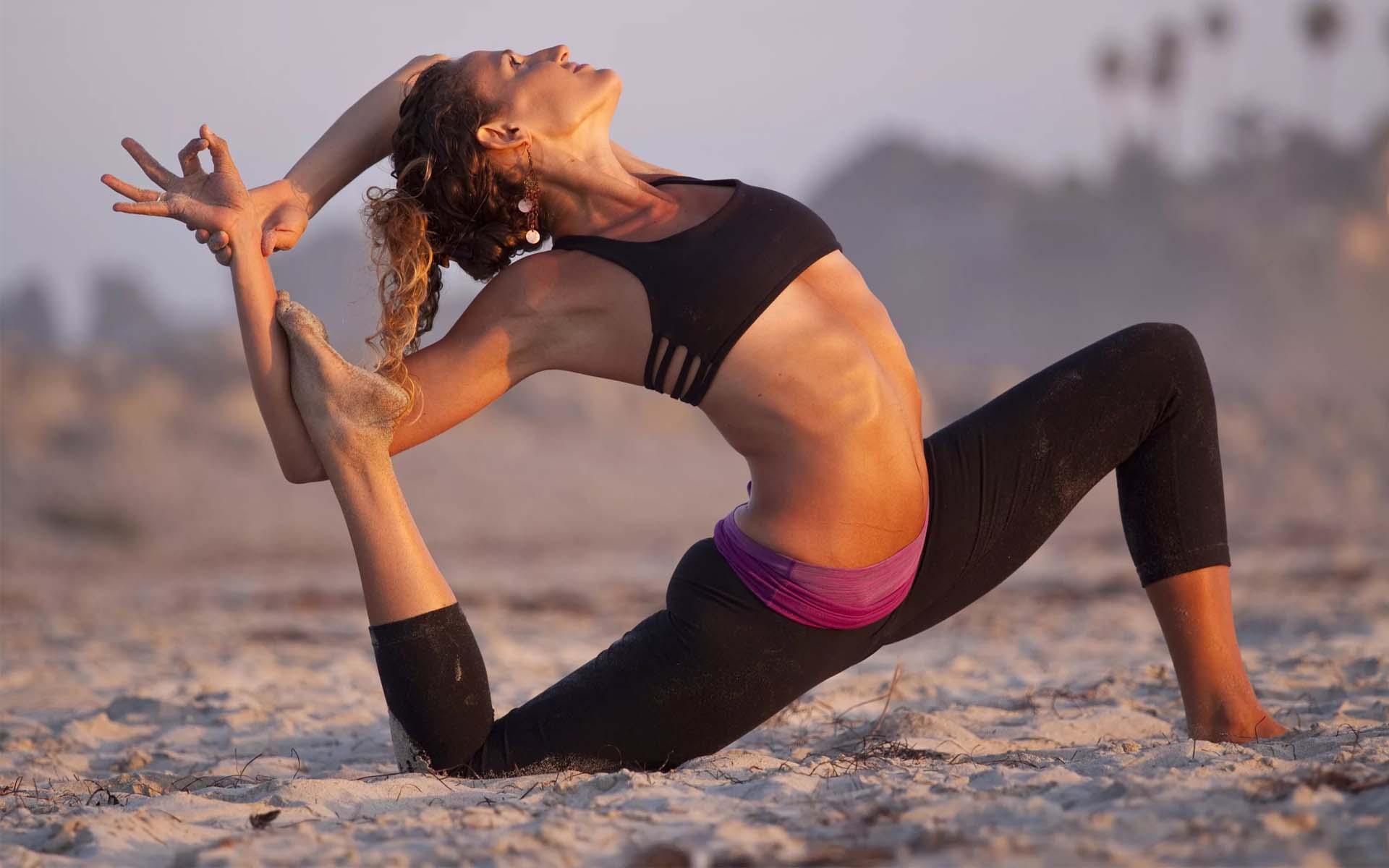 йога человек картинки разделены