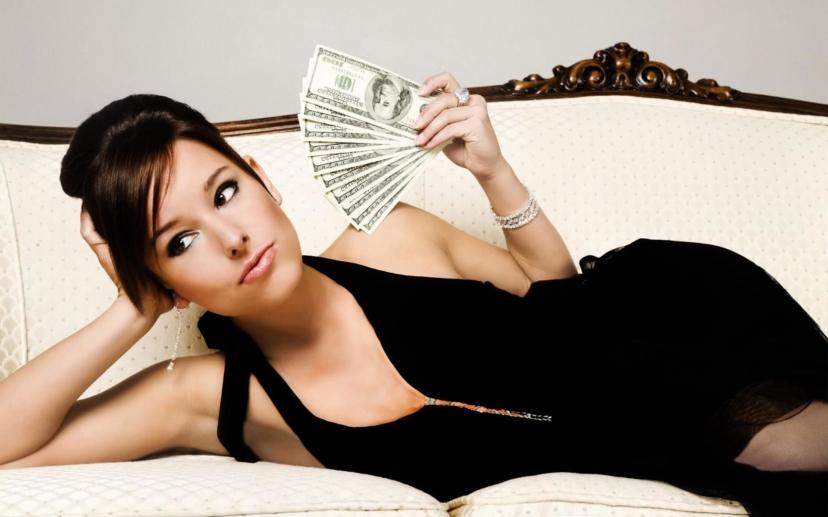 Как женщине стать богатой