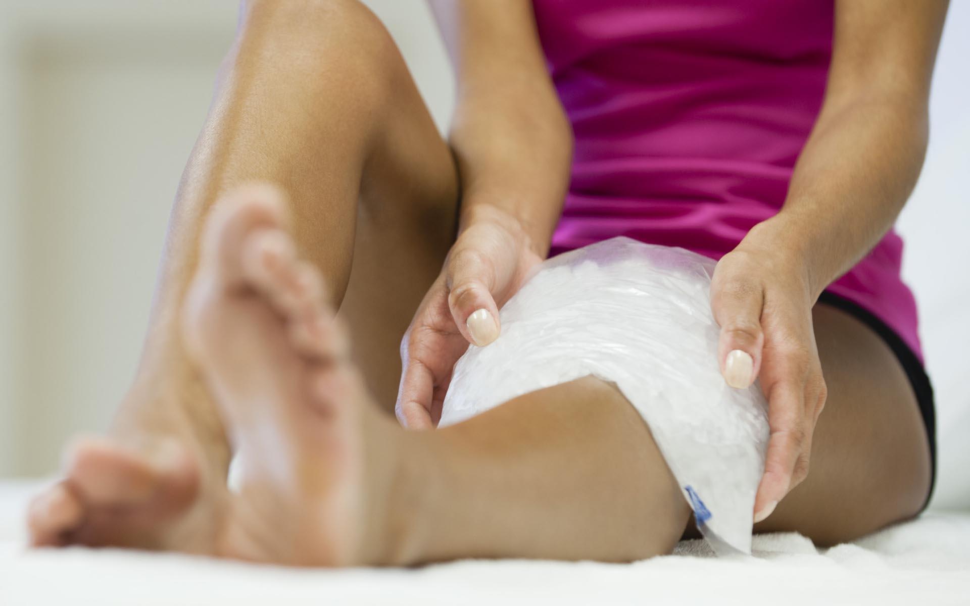 Как убрать боль в левой ноге
