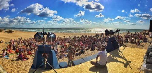 Апана 2016 на берегу моря