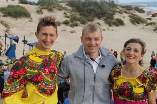 Танцоры и Сергея Мясников