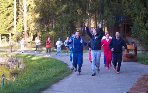 Утренняя пробежка тренинг Семейный