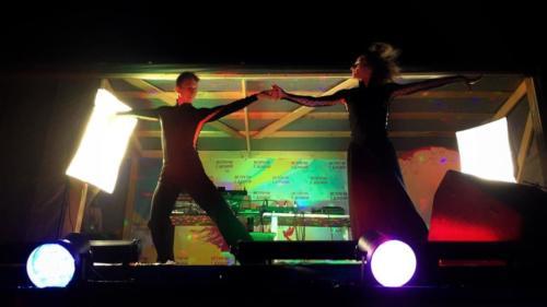 выступление танцоров Анапа